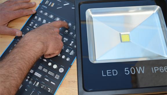 Servicio de ahorro y bajo consumo de Electricidad a mano